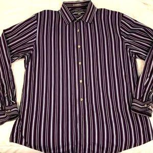 Apt. 9 Men's Dress Shirt size L